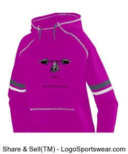 Ladies Spry Hoodie Design Zoom