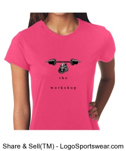 Gildan Ladies Core Performance T-Shirt Design Zoom
